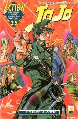 Copertina LE BIZZARRE AVVENTURE DI JO JO n.25 - JO JO, STAR COMICS