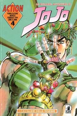 Copertina LE BIZZARRE AVVENTURE DI JO JO n.4 - JO JO, STAR COMICS