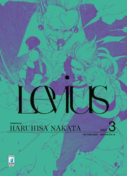 Copertina LEVIUS n.3 - LEVIUS (m3), STAR COMICS