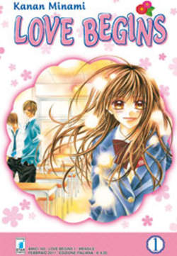 Copertina LOVE BEGINS n.1 - LOVE BEGINS (m15), STAR COMICS