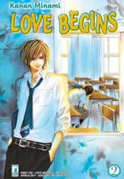 Copertina LOVE BEGINS n.2 - LOVE BEGINS (m15), STAR COMICS