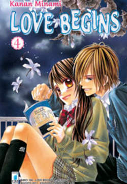 Copertina LOVE BEGINS n.4 - LOVE BEGINS (m15), STAR COMICS