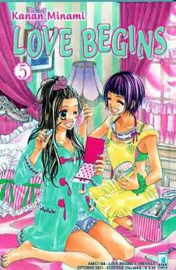 Copertina LOVE BEGINS n.5 - LOVE BEGINS (m15), STAR COMICS