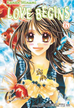 Copertina LOVE BEGINS n.6 - LOVE BEGINS (m15), STAR COMICS