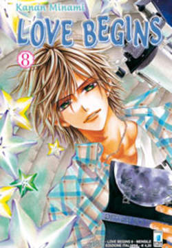 Copertina LOVE BEGINS n.8 - LOVE BEGINS (m15), STAR COMICS