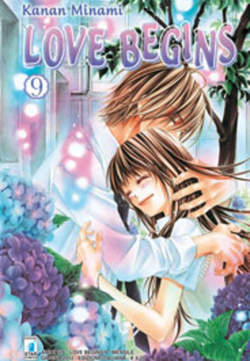 Copertina LOVE BEGINS n.9 - LOVE BEGINS (m15), STAR COMICS