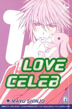 Copertina LOVE CELEB n.1 -  LOVE CELEB 1, STAR COMICS