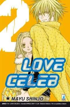 Copertina LOVE CELEB n.2 - LOVE CELEB 2, STAR COMICS