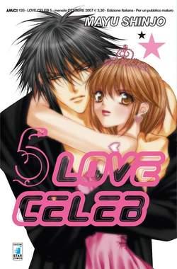Copertina LOVE CELEB n.5 - LOVE CELEB 5, STAR COMICS