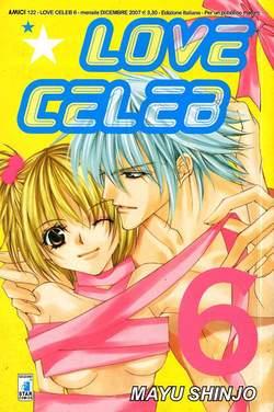 Copertina LOVE CELEB n.6 - LOVE CELEB (m7), STAR COMICS