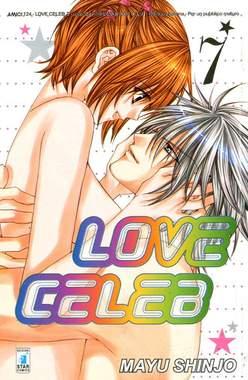 Copertina LOVE CELEB n.7 - LOVE CELEB (m7), STAR COMICS