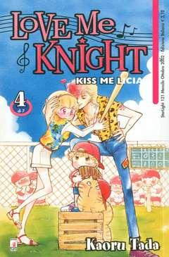 Copertina LOVE ME KNIGHT n.4 - KISS ME LICIA 4, STAR COMICS