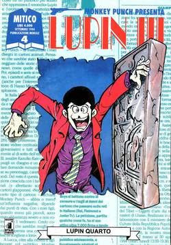 Copertina LUPIN III n.4 - LUPIN III 4, STAR COMICS