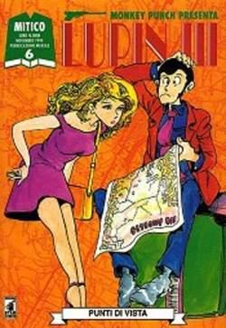 Copertina LUPIN III n.6 - LUPIN III 6, STAR COMICS