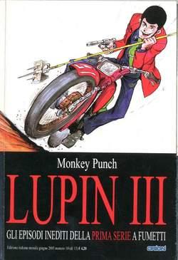 Copertina LUPIN III prima serie n.10 - LUPIN III, STAR COMICS