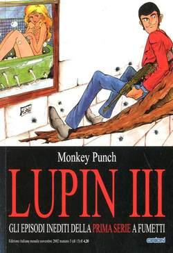 Copertina LUPIN III prima serie n.3 - LUPIN III, STAR COMICS