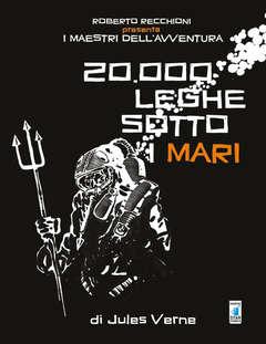 Copertina MAESTRI DELL'AVVENTURA n.1 - 20.000 LEGHE SOTTO I MARI, STAR COMICS