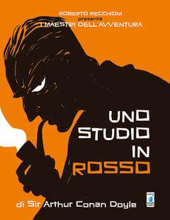 Copertina MAESTRI DELL'AVVENTURA n.3 - UNO STUDIO IN ROSSO, STAR COMICS