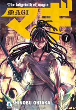 Copertina MAGI n.7 - MAGI 7, STAR COMICS