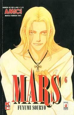 Copertina MARS n.6 - MARS 6, STAR COMICS
