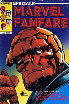 Copertina MARVEL FANFARE SPECIALE n. - SPECIALE MARVEL FANFARE, STAR COMICS