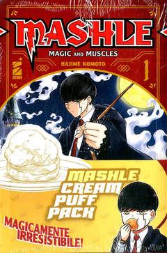 Copertina MASHLE CREAM PUFF PACK n. - MASHLE 1 + 2 + GADGET, STAR COMICS