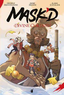 Copertina MASK'D n. - THE DIVINE CHILDREN, STAR COMICS