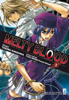 Copertina MELTY BLOOD n.1 - MELTY BLOOD 1, STAR COMICS