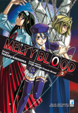 Copertina MELTY BLOOD n.2 - MELTY BLOOD 2 (m9), STAR COMICS