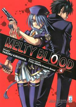 Copertina MELTY BLOOD n.4 - MELTY BLOOD 4 (m9), STAR COMICS
