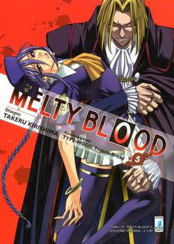 Copertina MELTY BLOOD n.5 - MELTY BLOOD 5 (m9), STAR COMICS