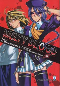 Copertina MELTY BLOOD n.6 - MELTY BLOOD 6, STAR COMICS