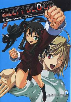 Copertina MELTY BLOOD n.7 - MELTY BLOOD 7 (m9), STAR COMICS