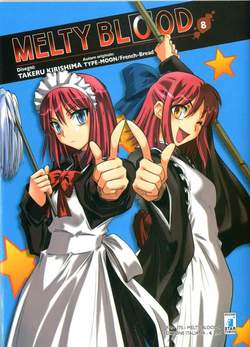 Copertina MELTY BLOOD n.8 - MELTY BLOOD 8 (m9), STAR COMICS
