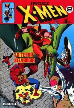 Copertina X-MEN SPECIALE n.2 - LA TERRA SELVAGGIA, STAR COMICS