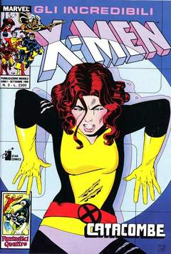 Copertina X-MEN n.3 - X-MEN                        3, STAR COMICS
