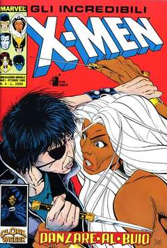 Copertina X-MEN n.4 - X-MEN                        4, STAR COMICS