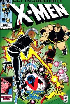 Copertina X-MEN n.8 - X-MEN                        8, STAR COMICS