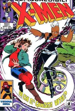 Copertina X-MEN n.9 - X-MEN                        9, STAR COMICS