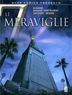 Copertina 7 MERAVIGLIE n.2 - LE 7 MERAVIGLIE (m3), STAR COMICS