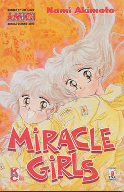 Copertina MIRACLE GIRLS n.2 - MIRACLES GIRLS 2, STAR COMICS