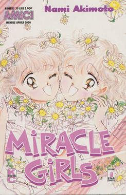 Copertina MIRACLE GIRLS n.3 - MIRACLE GIRLS 3, STAR COMICS
