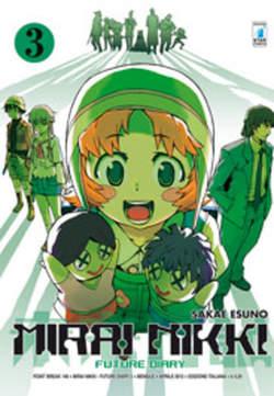 Copertina MIRAI NIKKI n.3 - FUTURE DIARY 3 (m12), STAR COMICS