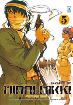 Copertina MIRAI NIKKI n.5 - FUTURE DIARY 5 (m12), STAR COMICS