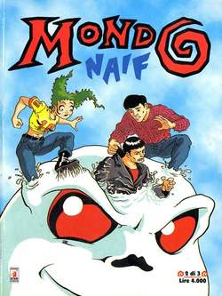 Copertina MONDO NAIF n.2 - MONDO NAIF MINI DI 3         2, STAR COMICS
