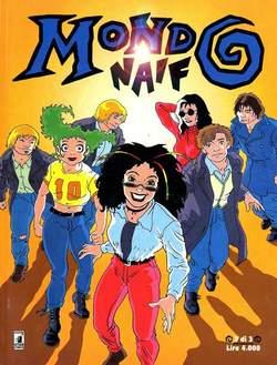 Copertina MONDO NAIF n.3 - MONDO NAIF MINI DI 3         3, STAR COMICS