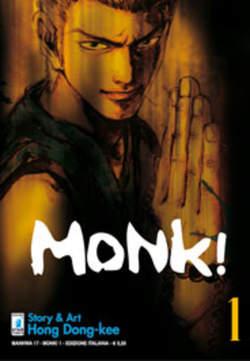 Copertina MONK! n.1 - MONK! (m6), STAR COMICS