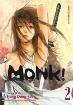 Copertina MONK! n.2 - MONK! (m6), STAR COMICS