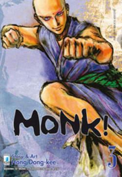 Copertina MONK! n.3 - MONK! (m6), STAR COMICS