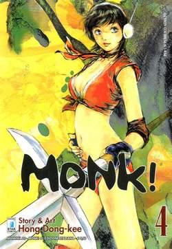 Copertina MONK! n.4 - MONK! (m6), STAR COMICS
